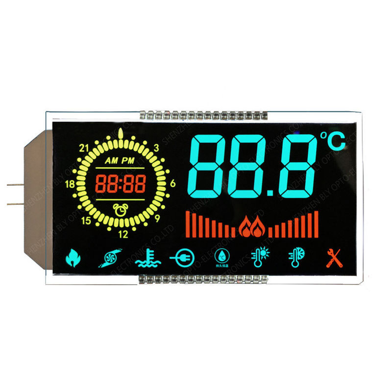Customized High Contrast VA LCD Display Color Segment Digital LCD Panel